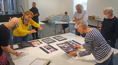 Jury Jugendkunstpreis 2020 im Museum
